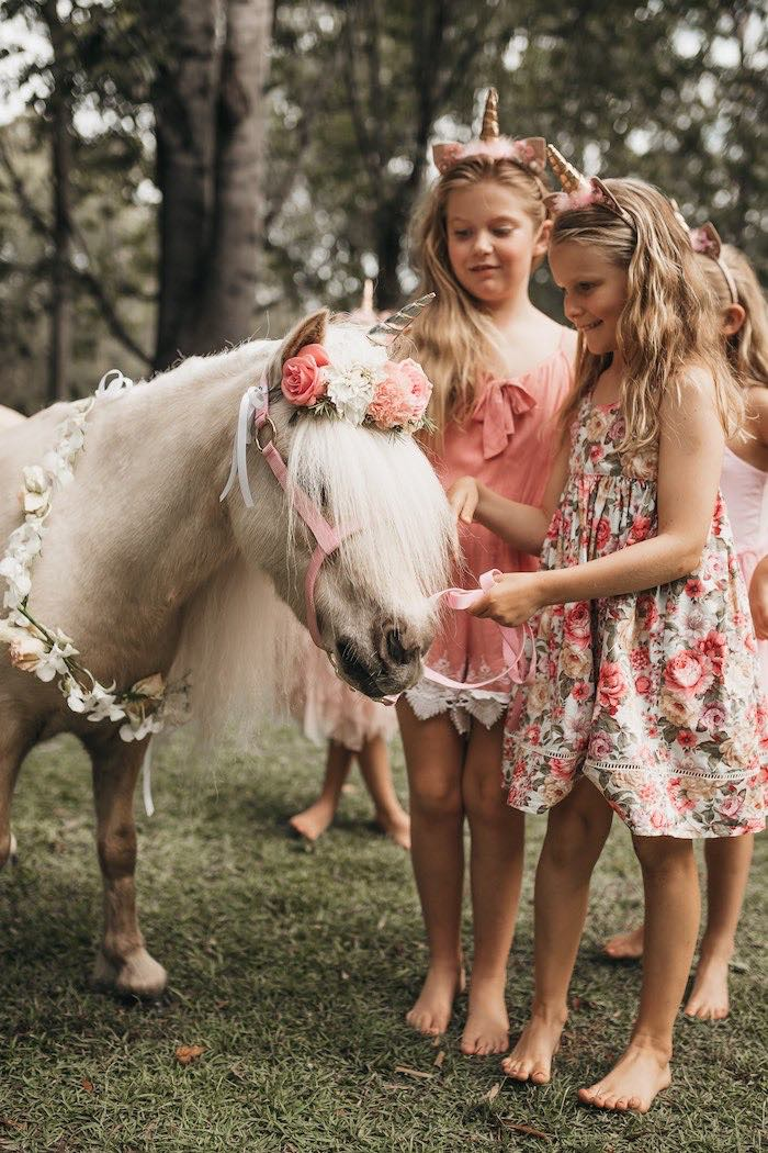 Unicorn Love from a Glam Boho Unicorn Birthday Party on Kara's Party Ideas | KarasPartyIdeas.com (22)
