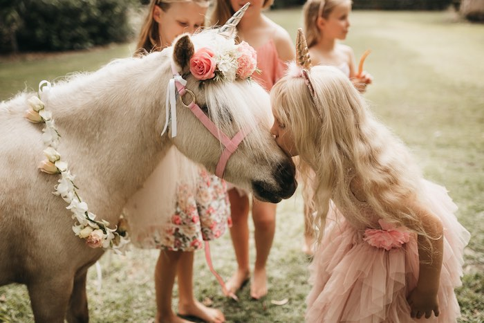 Unicorn Kisses from a Glam Boho Unicorn Birthday Party on Kara's Party Ideas | KarasPartyIdeas.com (20)