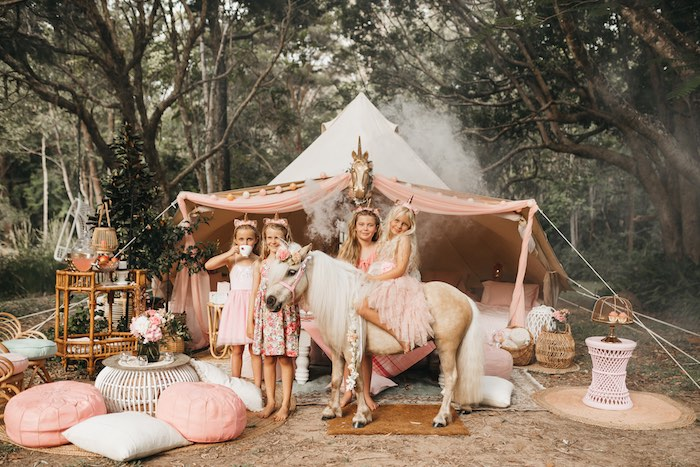 Glam Boho Unicorn Birthday Party on Kara's Party Ideas | KarasPartyIdeas.com (10)