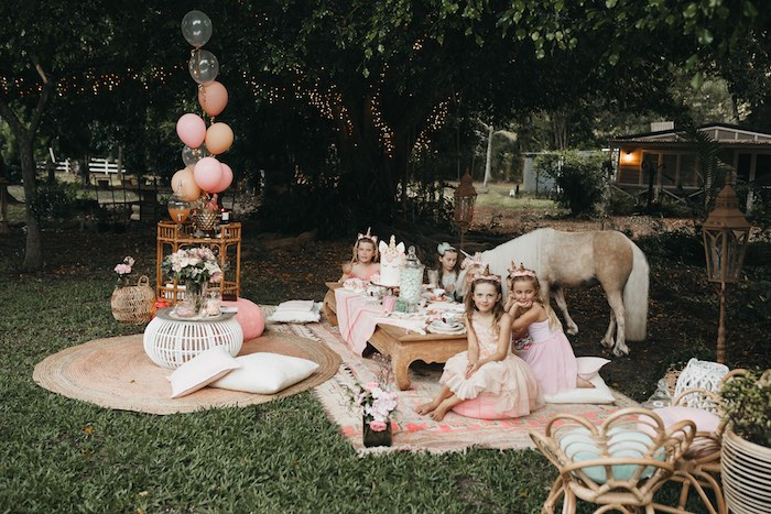 Glam Boho Unicorn Birthday Party on Kara's Party Ideas | KarasPartyIdeas.com (8)