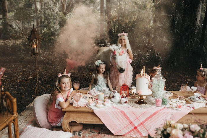 Glam Boho Unicorn Birthday Party on Kara's Party Ideas | KarasPartyIdeas.com (5)