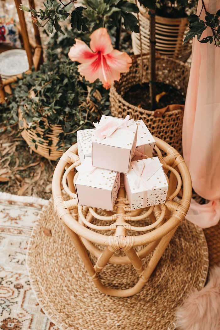 Favor Boxes from a Glam Boho Unicorn Birthday Party on Kara's Party Ideas | KarasPartyIdeas.com (41)