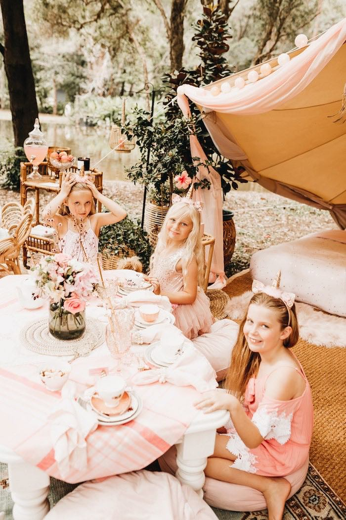 Glam Boho Unicorn Birthday Party on Kara's Party Ideas | KarasPartyIdeas.com (38)