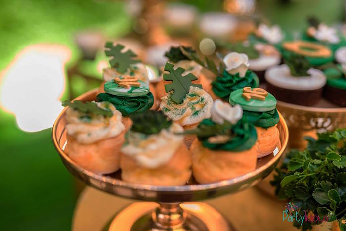 Eclairs from a Glamorous Tropical Sweet 16 Birthday Party on Kara's Party Ideas | KarasPartyIdeas.com (17)