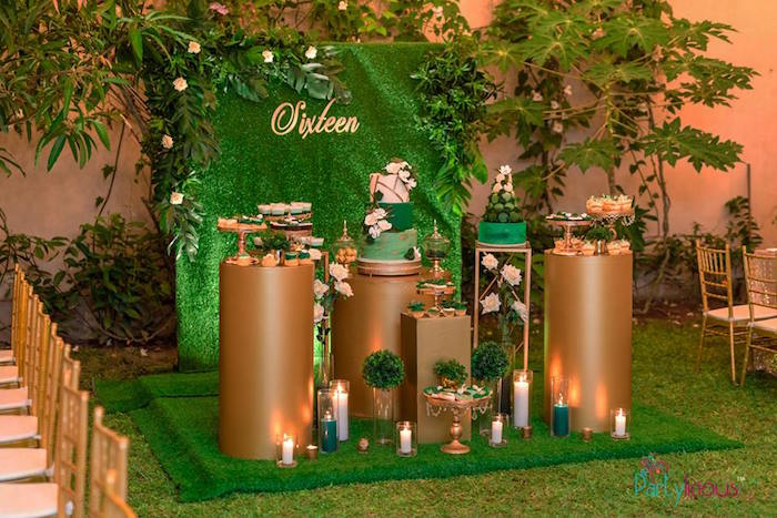 Glamorous Tropical Sweet 16 Birthday Party on Kara's Party Ideas | KarasPartyIdeas.com (26)