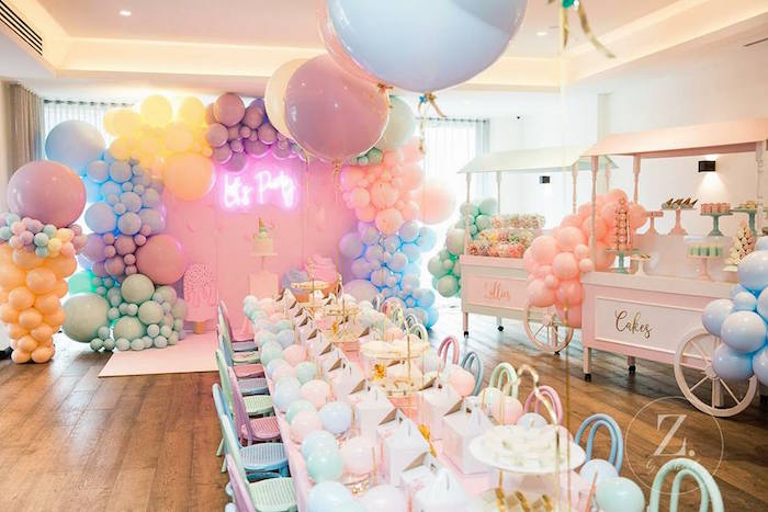 Here's the Scoop Pastel Ice Cream Party on Kara's Party Ideas | KarasPartyIdeas.com (4)