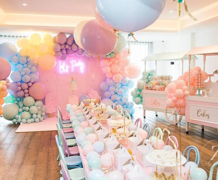Here's the Scoop Pastel Ice Cream Party on Kara's Party Ideas | KarasPartyIdeas.com (14)