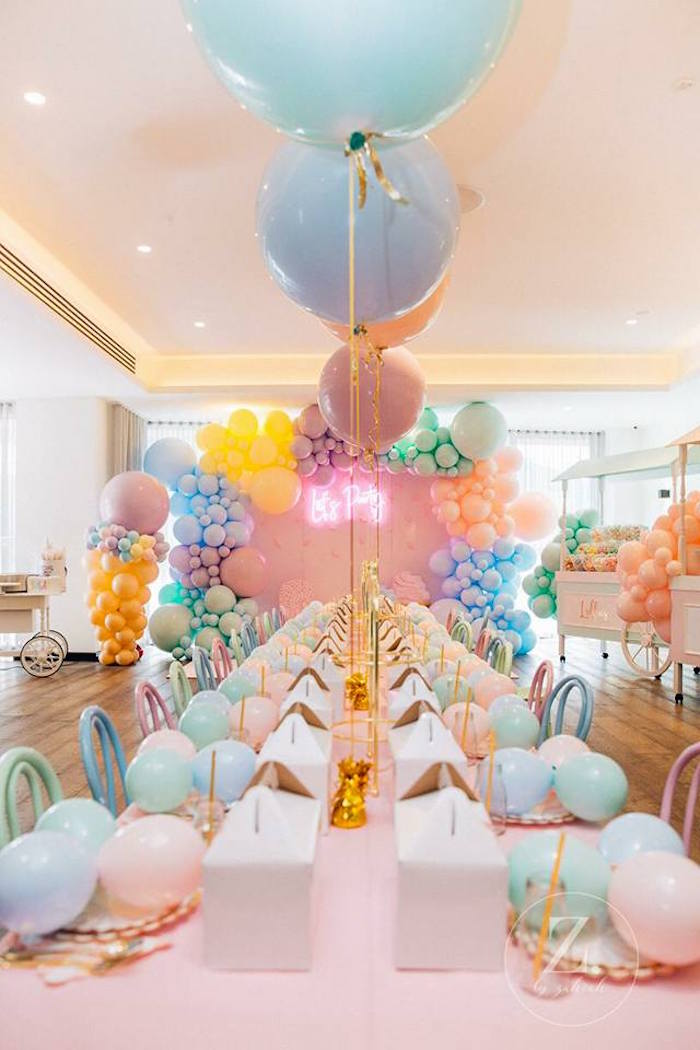 Here's the Scoop Pastel Ice Cream Party on Kara's Party Ideas | KarasPartyIdeas.com (13)