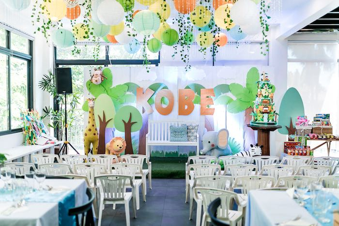 Jungle Safari Birthday Party on Kara's Party Ideas | KarasPartyIdeas.com (33)