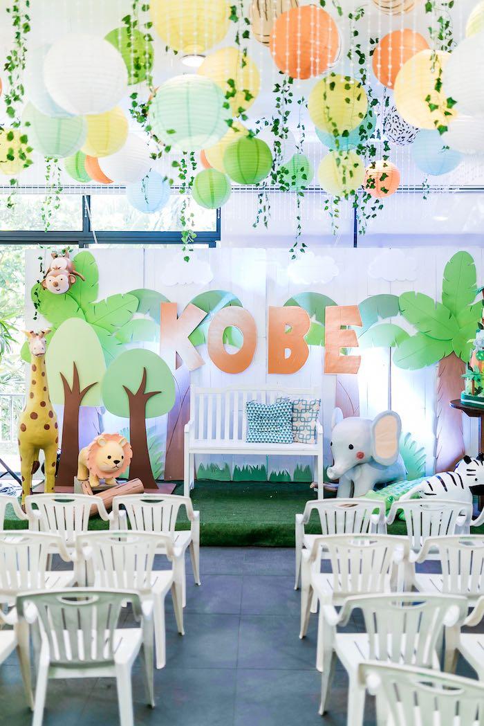 Jungle Safari Birthday Party on Kara's Party Ideas | KarasPartyIdeas.com (32)