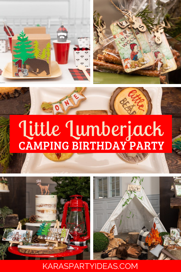 Little Lumberjack Camping Birthday Party via Kara's Party Ideas - KarasPartyIdeas.com.png