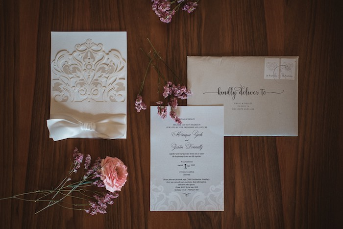 Wedding Invite + Stationery from a Luxury Castle Destination Wedding on Kara's Party Ideas | KarasPartyIdeas.com (19)