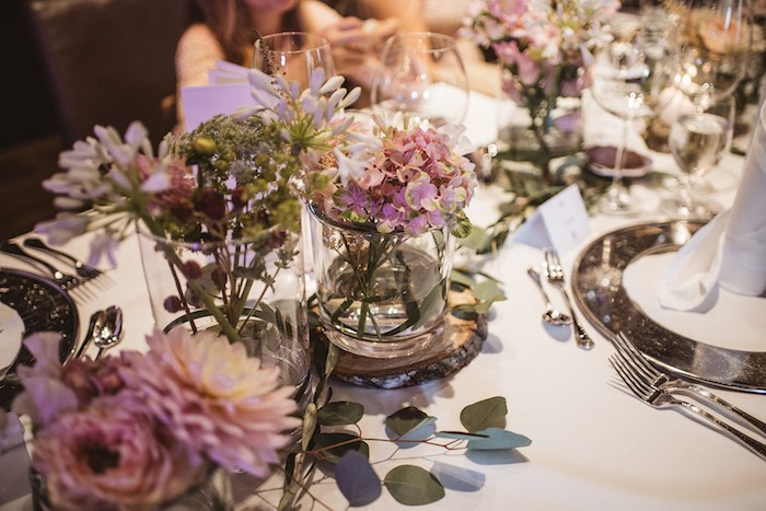 Floral Centerpieces from a Luxury Castle Destination Wedding on Kara's Party Ideas | KarasPartyIdeas.com (14)