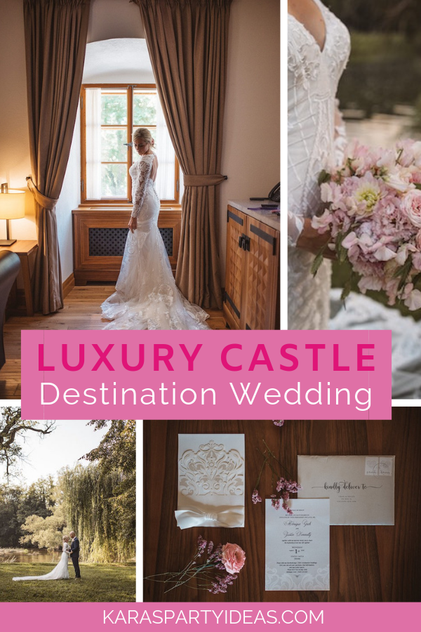 Luxury Castle Destination Wedding via Kara's Party Ideas - KarasPartyIdeas.com