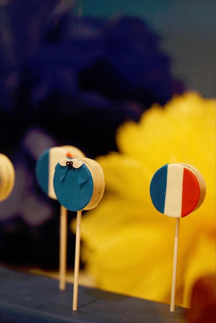 Madeline Oreo Pops from a Madeline in Paris Birthday Party on Kara's Party Ideas | KarasPartyIdeas.com (12)