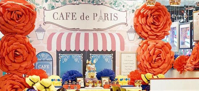 Madeline in Paris Birthday Party on Kara's Party Ideas | KarasPartyIdeas.com (4)
