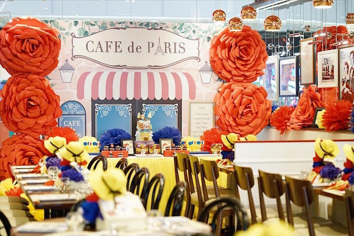 Madeline in Paris Birthday Party on Kara's Party Ideas | KarasPartyIdeas.com (20)