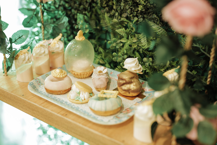 French Desserts + Pastry Plate from a Paris Patisserie Birthday Party on Kara's Party Ideas | KarasPartyIdeas.com (10)
