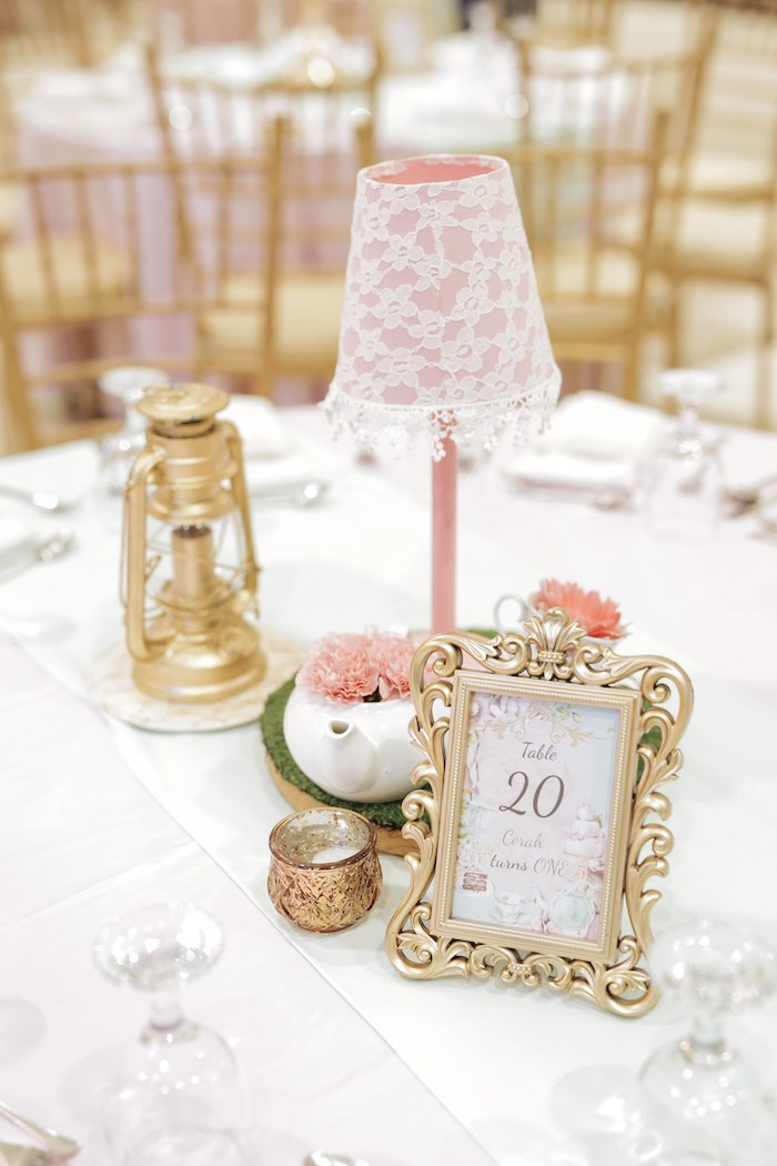 Paris Themed Party Table + Centerpiece from a Paris Patisserie Birthday Party on Kara's Party Ideas | KarasPartyIdeas.com (32)