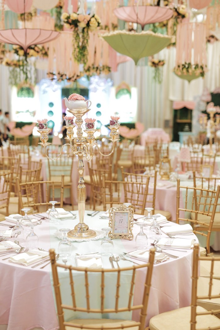 Paris-inspired Guest Table from a Paris Patisserie Birthday Party on Kara's Party Ideas | KarasPartyIdeas.com (25)