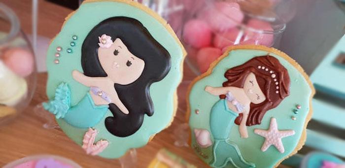 Pastel Mermaid Birthday Party on Kara's Party Ideas | KarasPartyIdeas.com (1)