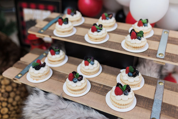 Berry Cookie Tarts from a Rustic Camping Birthday Party on Kara's Party Ideas | KarasPartyIdeas.com (43)