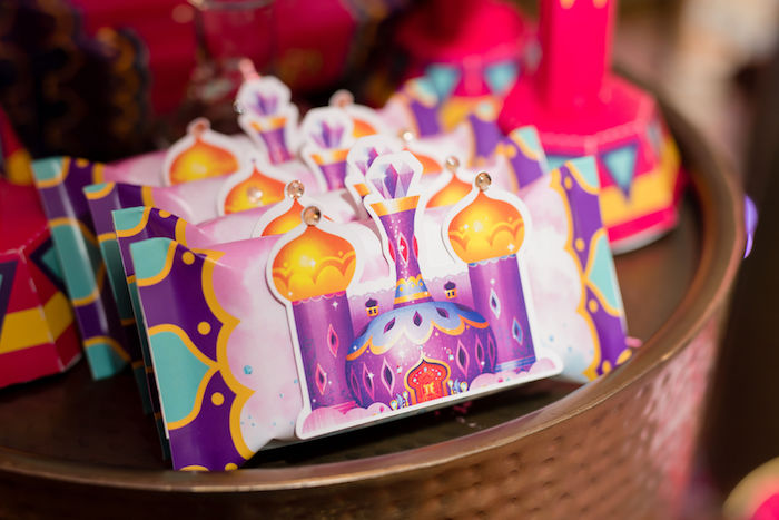 Arabian Castle Candy Bars from a Shimmer and Shine Arabian Princess Birthday Party on Kara's Party Ideas | KarasPartyIdeas.com (26)