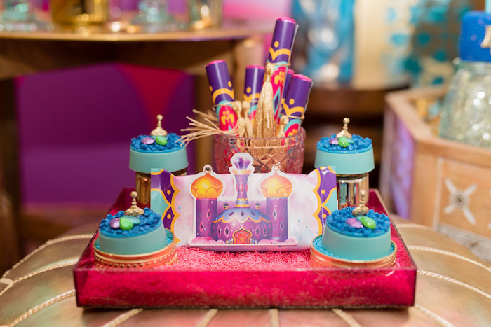 Castle Sweets from a Shimmer and Shine Arabian Princess Birthday Party on Kara's Party Ideas | KarasPartyIdeas.com (25)