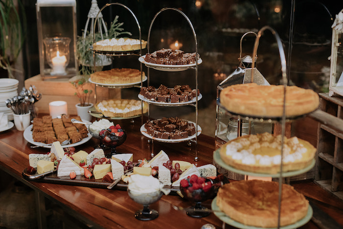 Dessert Table from a Timeless & Elegant Mountain Wedding on Kara's Party Ideas | KarasPartyIdeas.com (21)