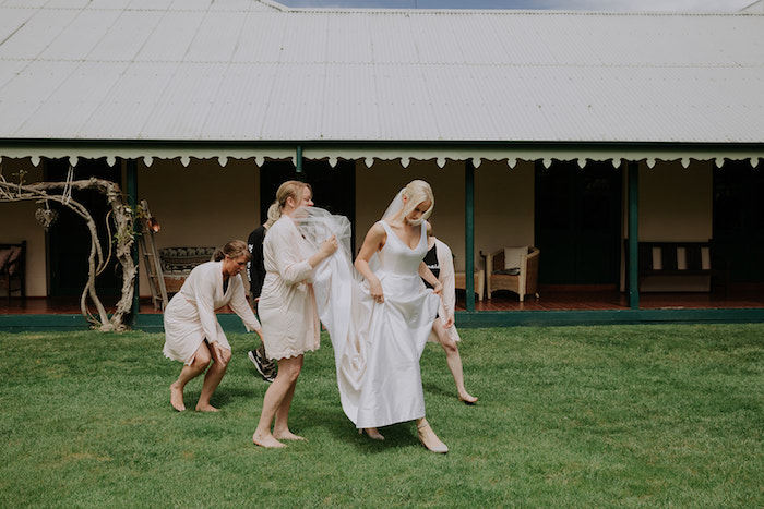 Bride Squad from a Timeless & Elegant Mountain Wedding on Kara's Party Ideas | KarasPartyIdeas.com (15)