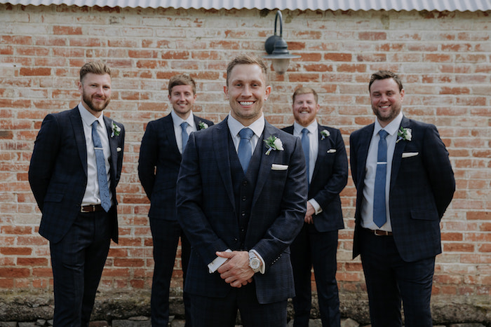 Groomsmen from a Timeless & Elegant Mountain Wedding on Kara's Party Ideas | KarasPartyIdeas.com (11)