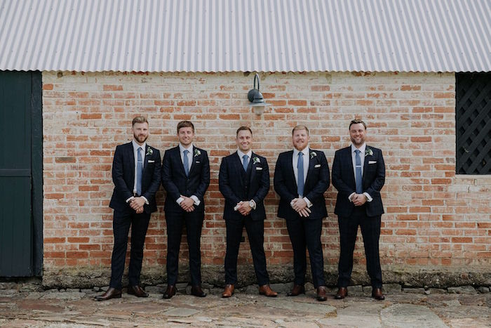 Groomsmen from a Timeless & Elegant Mountain Wedding on Kara's Party Ideas | KarasPartyIdeas.com (10)