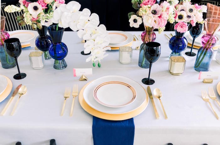 Table Setting from a Valentine's Dinner Party on Kara's Party Ideas | KarasPartyIdeas.com (27)