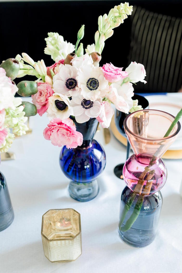 Blooms from a Valentine's Dinner Party on Kara's Party Ideas | KarasPartyIdeas.com (23)