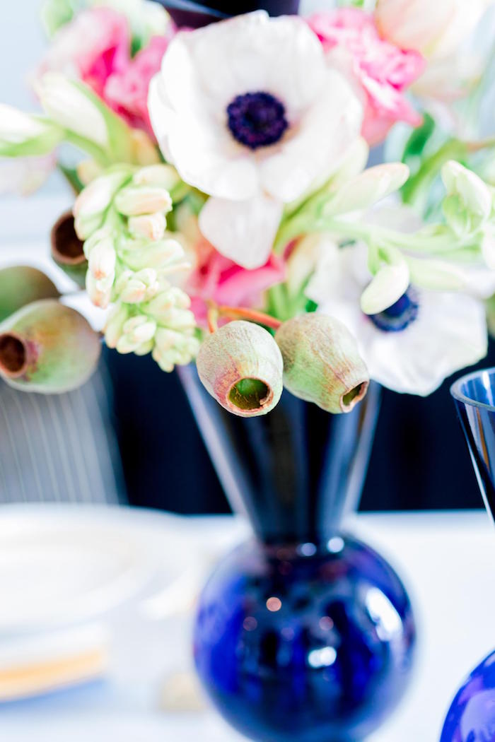 Blooms from a Valentine's Dinner Party on Kara's Party Ideas | KarasPartyIdeas.com (37)