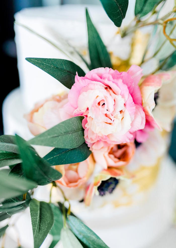 Cake Blooms from a Valentine's Dinner Party on Kara's Party Ideas | KarasPartyIdeas.com (34)