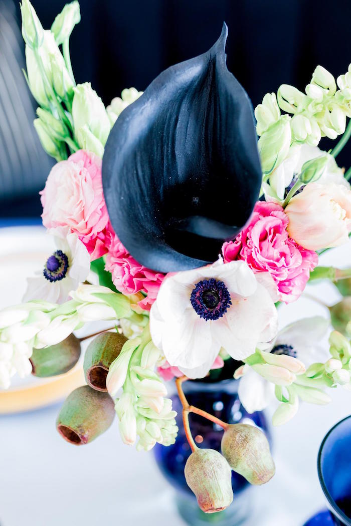 Blooms from a Valentine's Dinner Party on Kara's Party Ideas | KarasPartyIdeas.com (31)