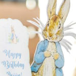 Vintage Peter Rabbit Birthday Party on Kara's Party Ideas   KarasPartyIdeas.com (3)