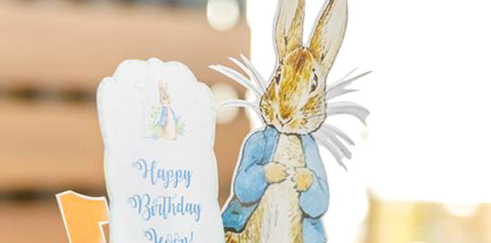 Vintage Peter Rabbit Birthday Party on Kara's Party Ideas | KarasPartyIdeas.com (3)