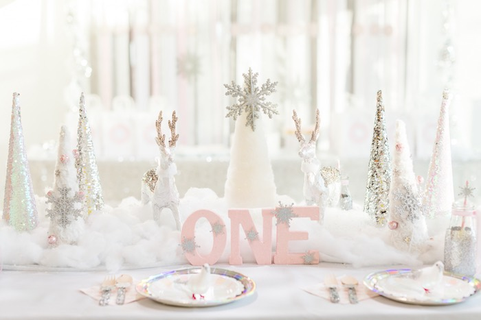 Kara S Party Ideas Winter Onederland First Birthday Kara