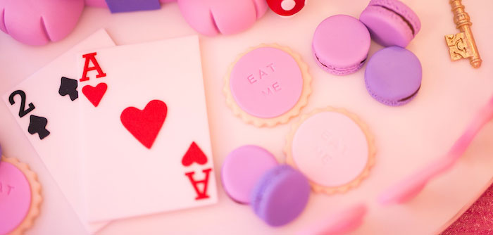 Alice in Wonderland First Birthday Party on Kara's Party Ideas | KarasPartyIdeas.com (1)