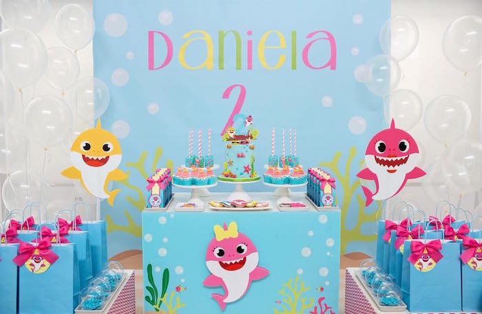 Baby Shark Birthday Party on Kara's Party Ideas | KarasPartyIdeas.com (16)
