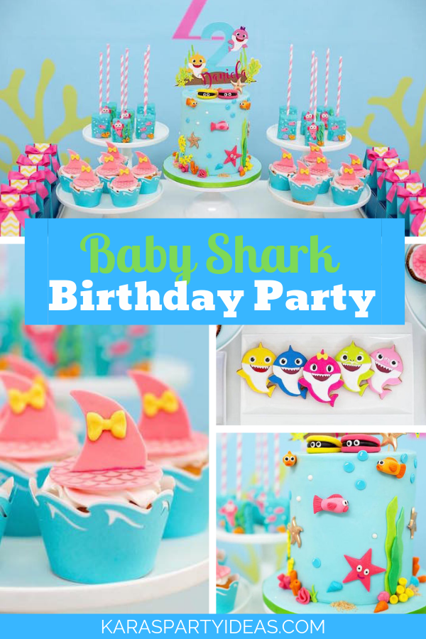 Baby Cute Shark Theme Party Gift Bags Shark Goodie Candy Treat Paper Bags Party Favors for Baby Shower Kids Girls or Boys Birthday Party Supplies