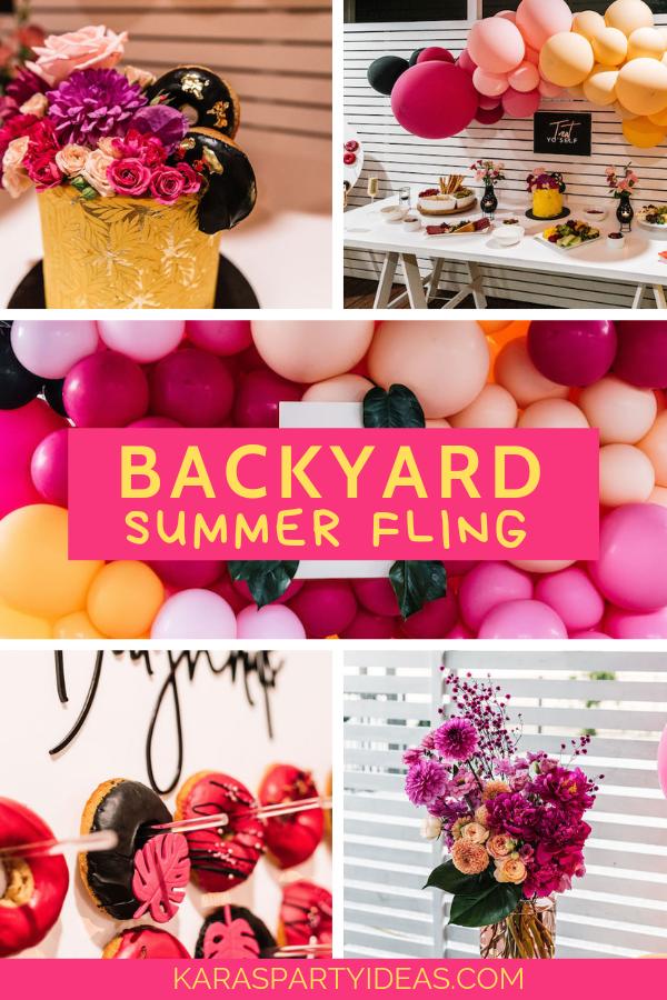 Backyard Summer Fling via Kara's Party Ideas - KarasPartyIdeas.com.png