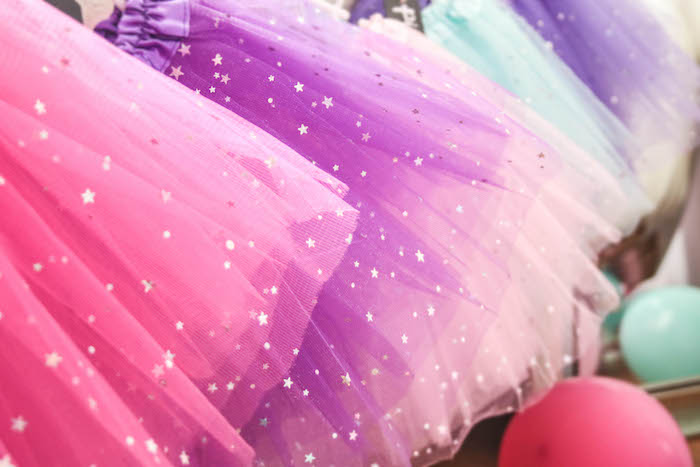 Shimmering Tutus from a Ballerina Birthday Party on Kara's Party Ideas | KarasPartyIdeas.com (19)
