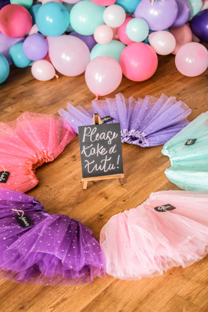 Tutu Favors from a Ballerina Birthday Party on Kara's Party Ideas | KarasPartyIdeas.com (16)
