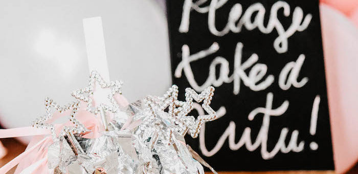 Ballerina Birthday Party on Kara's Party Ideas | KarasPartyIdeas.com (2)