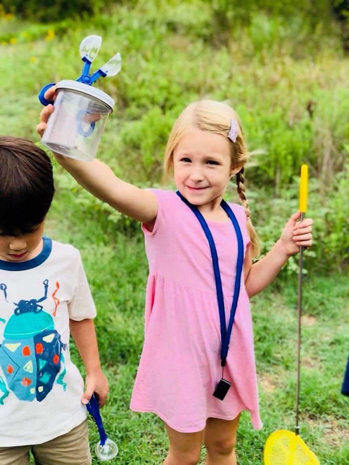 Bug Catching from a Birthday Bug Bash on Kara's Party Ideas | KarasPartyIdeas.com (21)