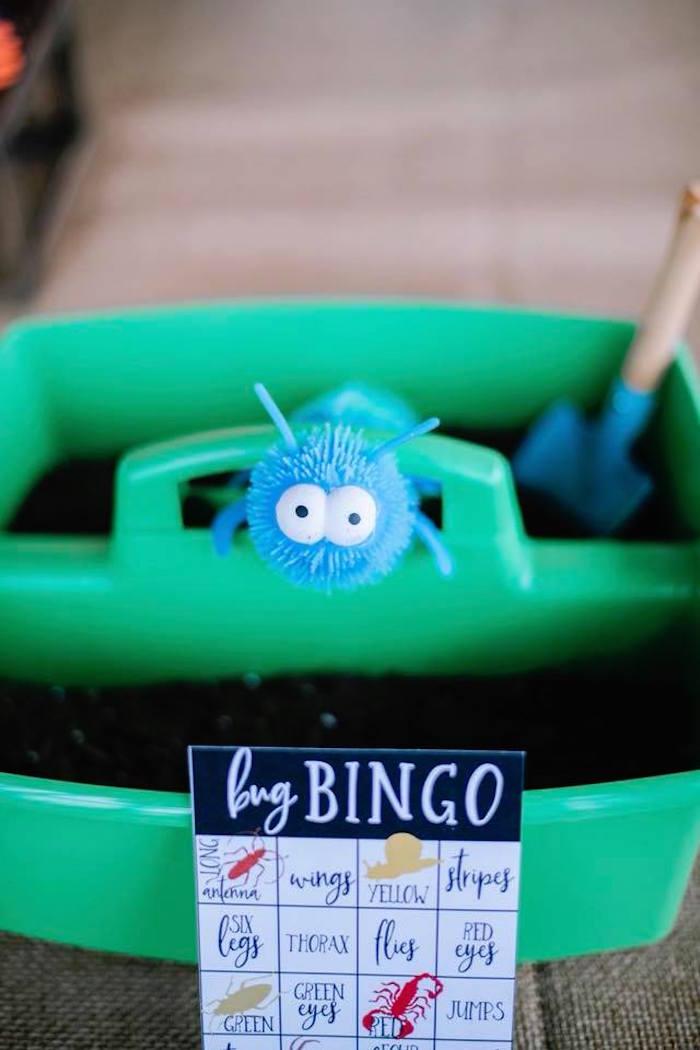 Bug Bingo from a Birthday Bug Bash on Kara's Party Ideas | KarasPartyIdeas.com (10)