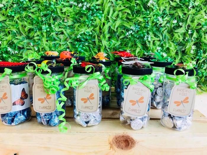 Bug Themed Favors + Favor Jars from a Birthday Bug Bash on Kara's Party Ideas | KarasPartyIdeas.com (29)